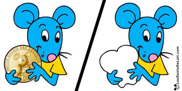 La Petite Souris avant et après son passage