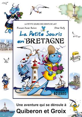 Affiche de la Petite Souris en Bretagne