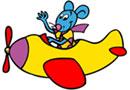 avion petite souris