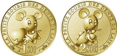 Médailles souvenir Arthus-Bertrand de la petite souris