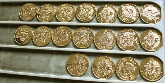 Médailles souvenir du Mont Saint Michel