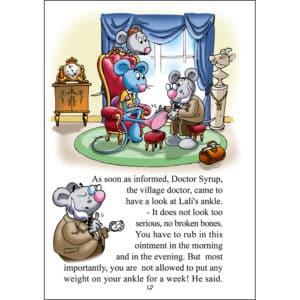 Page livre jeunesse en anglais