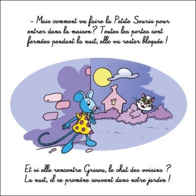 Page du livre jeunesse intitulé sur la Petite Souris