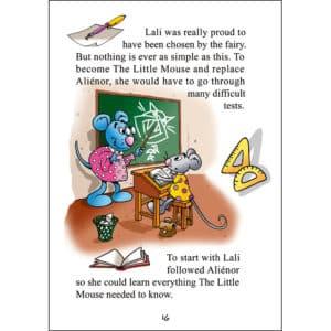 Page d'un livre pour enfant en anglais