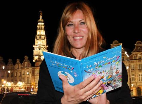 Mathilde Seigner et la Petite Souris à Arras