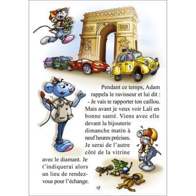 Page intérieure de La Petite Souris à Paris