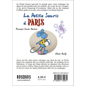 Dernière de couverture : La Petite Souris à Paris