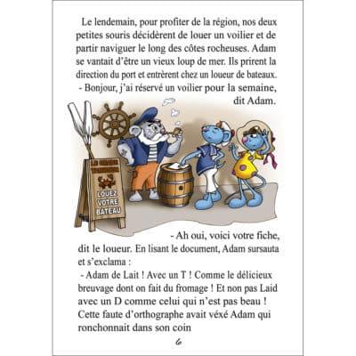 Page de l'album : La Petite Souris en Bretagne
