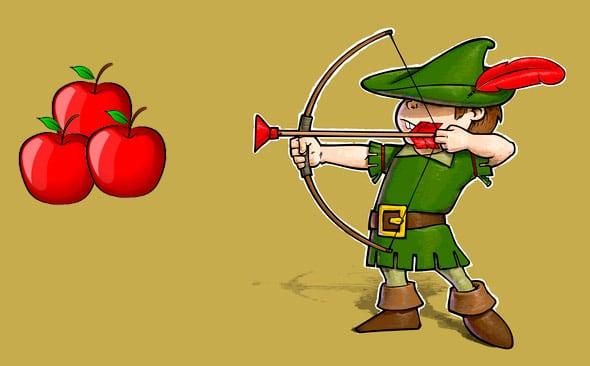 Robin des bois pour enfants