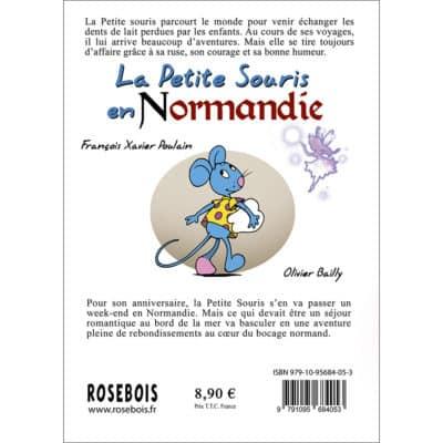 La Petite Souris en Normandie : 4ème de couverture