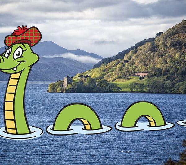 Nessie le monstre du Loch Ness