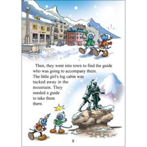 A story in Chamonix for children