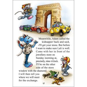 A story in Paris for children
