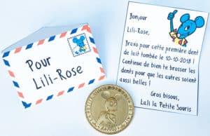 Mini lettre de la Petite Souris