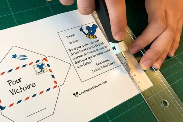 Création d'un mini lettre pour les enfants