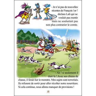Page livre jeunesse sur le Val de Loire