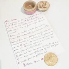 Lettre de la Petite Souris