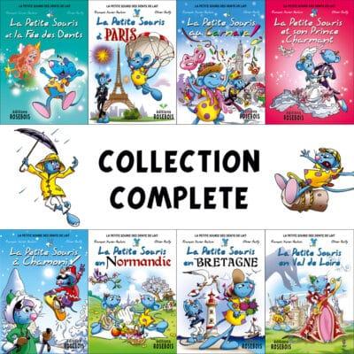 Collection complète des livres sur les aventures de la Petite Souris