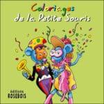 Coloriages de la Petite Souris au carnaval