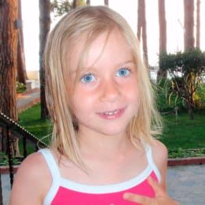 Lili-Rose à 4 ans