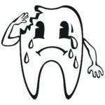 Dent abîmée