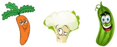 Légumes bons pour les dents