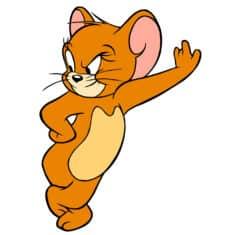 Jerry la souris des dessins animés